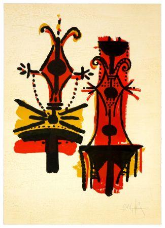 Litografia Lam - Pour Jorn