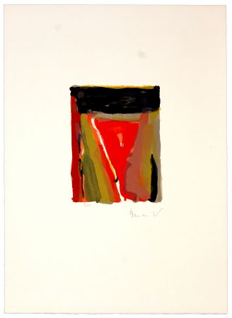 Litografia Van Velde - Pour Jorn