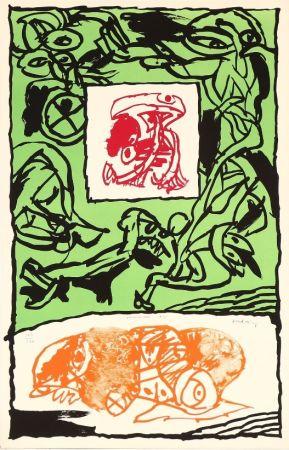 Litografia Alechinsky - Première Acte