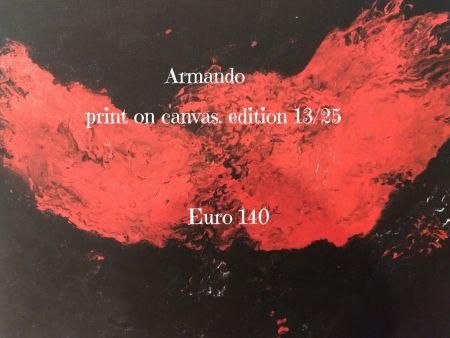 Litografia Armando - Print on cavas