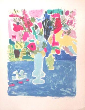 Litografia Bezombes - Printemps Sous Le Signe Des Fleurs