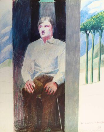 Litografia Hockney - Prisoner