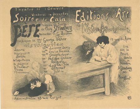 Litografia Vallotton - Programme pour
