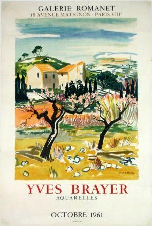 Litografia Brayer - Provence Galerie Romanet