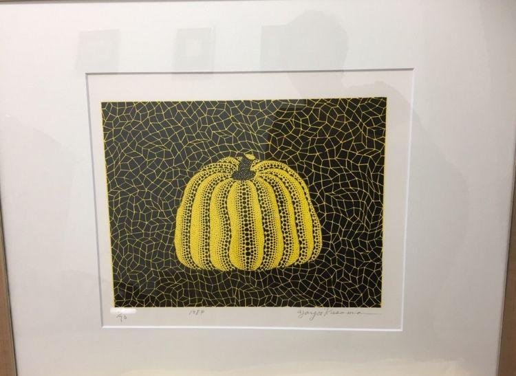Litografia Kusama - Pumpkin