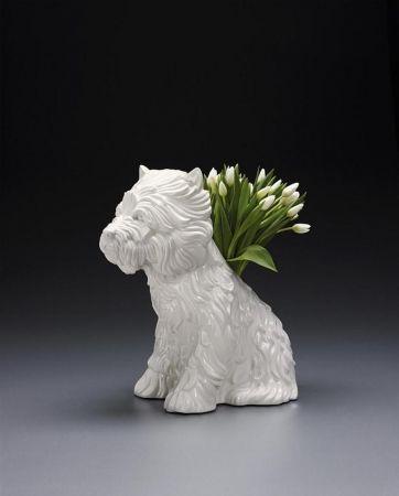 Non Tecnico Koons - Puppy Vase