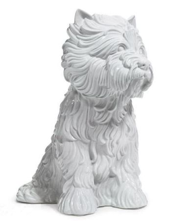 Multiplo Koons - Puppy (vase in the form of West Highland Terrier)