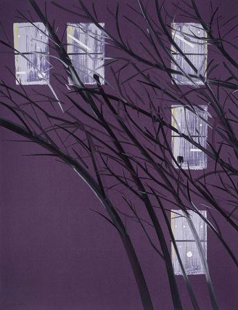 Serigrafia Katz - Purple Wind