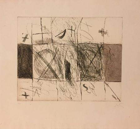 Acquaforte E Acquatinta Tàpies - Quadrats i grafismes