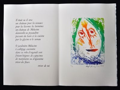 Libro Illustrato Pedersen - Quatre chanson pour une château de Puisaye