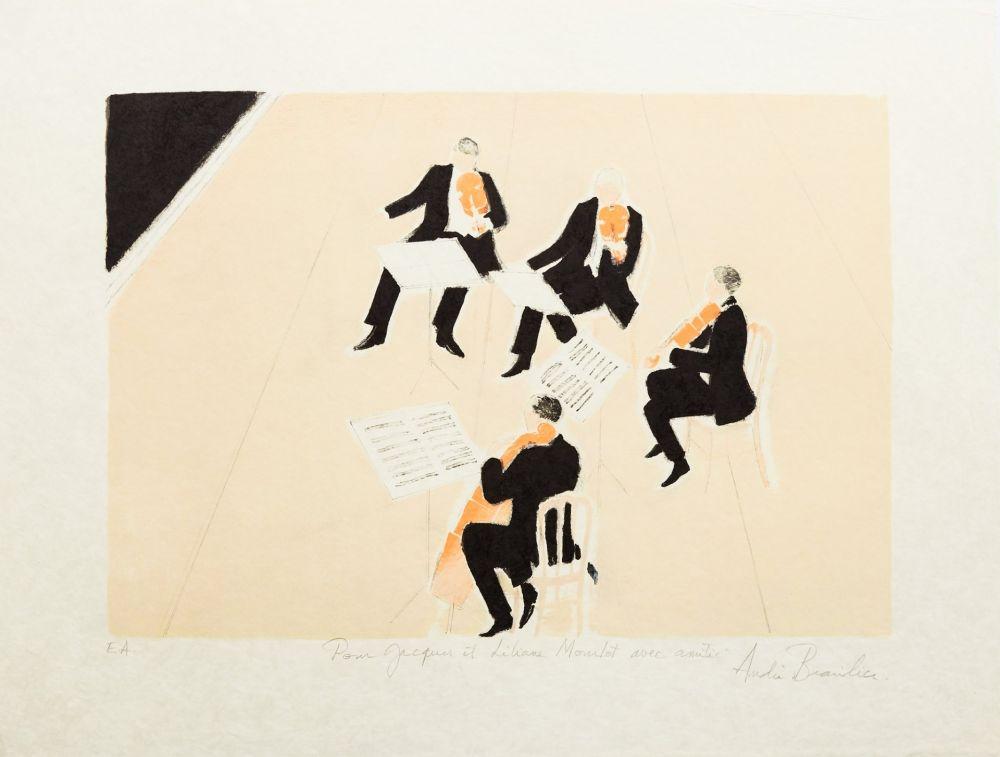 Litografia Brasilier - Quatuor
