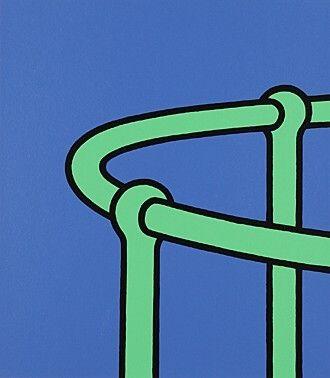 Serigrafia Caulfield - Que ma vie fait envie
