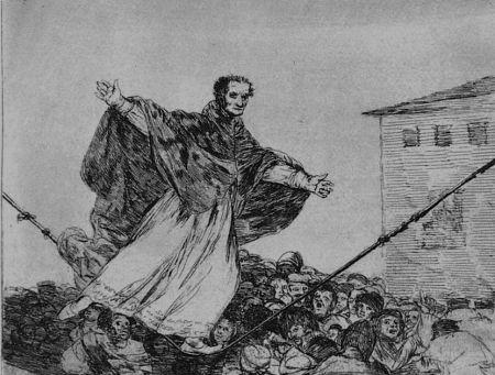 Acquaforte E Acquatinta Goya - Que rompe al cueda