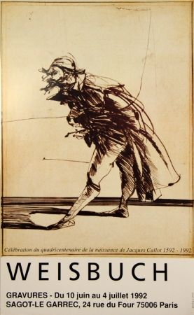 Offset Weisbuch - Quedricentenaire de Jacques Calot 1952-1992