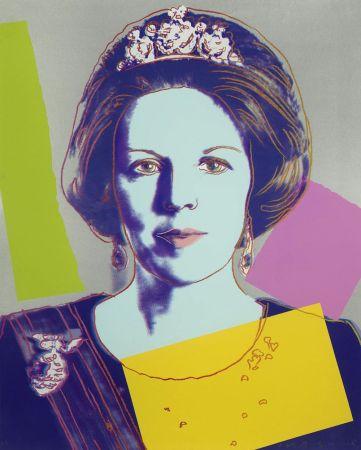 Serigrafia Warhol - Queen Beatrix (Royal Edition) (FS II.340A)