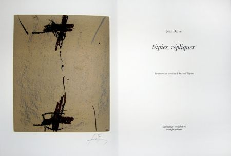 Libro Illustrato Tàpies - Répliquer