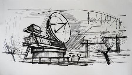 Litografia Buffet - Radar Station, Siemens