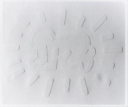 Serigrafia Haring - Radiant Baby