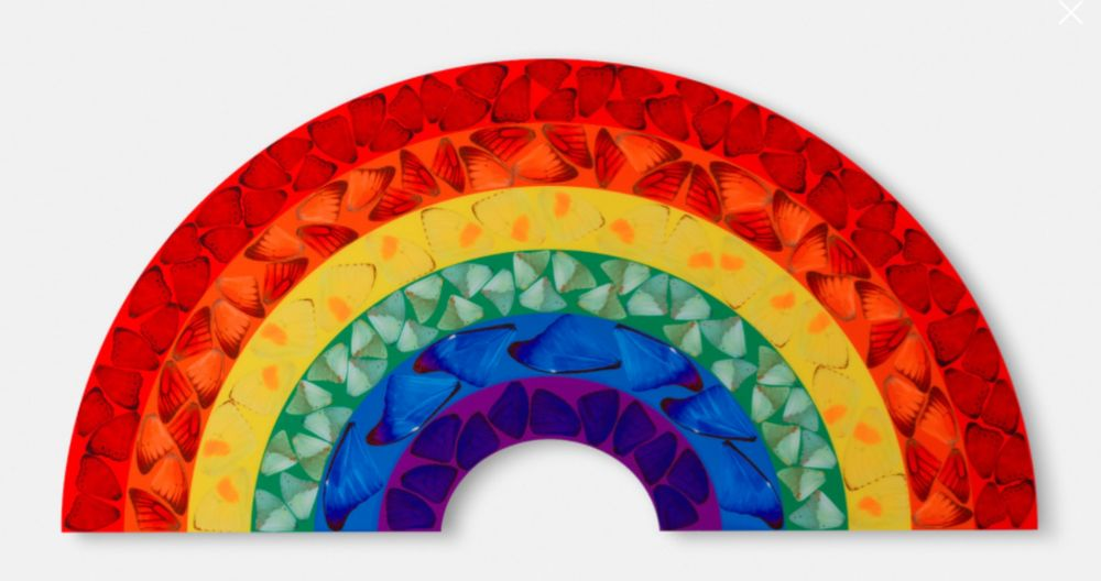 Multiplo Hirst -  Rainbow, H7-1