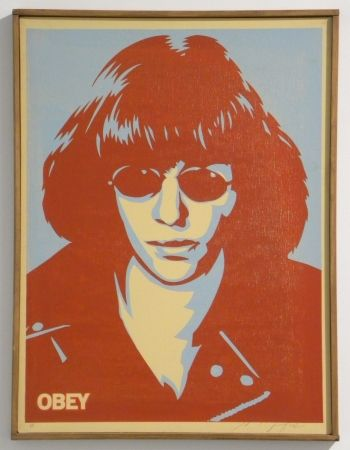 Serigrafia Fairey - Ramone Canvas