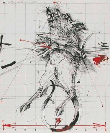 Litografia Velickovic - RAT
