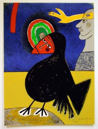 Litografia Corneille - Raven no. 3