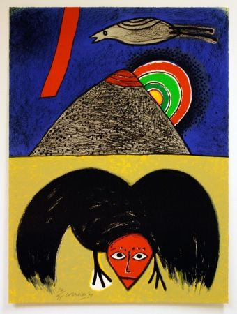 Litografia Corneille - Raven No. 4