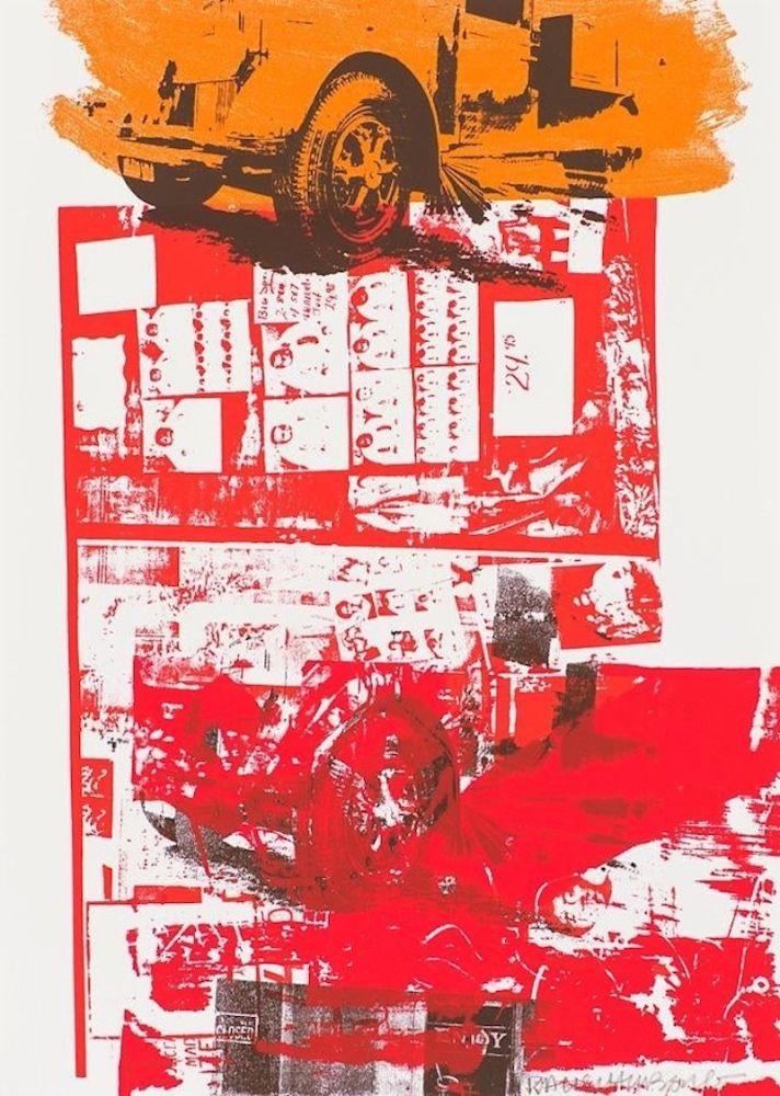 Serigrafia Rauschenberg - Read Bleed