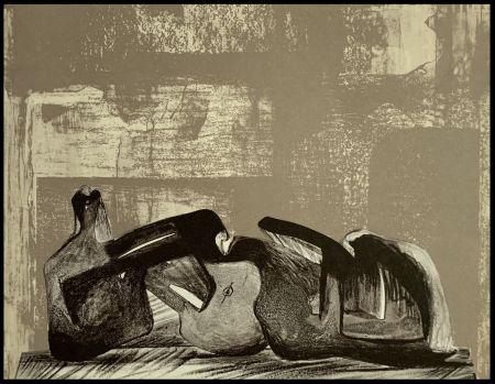 Litografia Moore - Reclining Figure