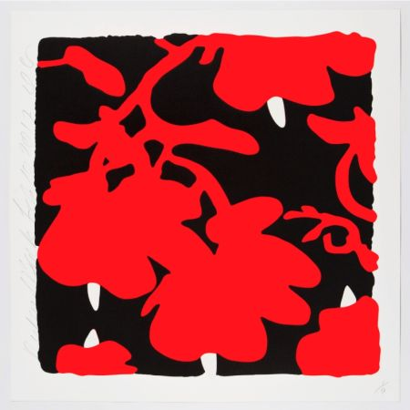 Serigrafia Sultan - Red And Black, Feb 10, 2017