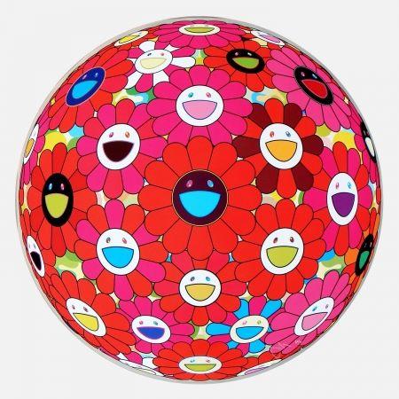 Multiplo Murakami - Red Flower Ball (3-D
