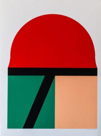 Serigrafia Matsutani - Red Sun