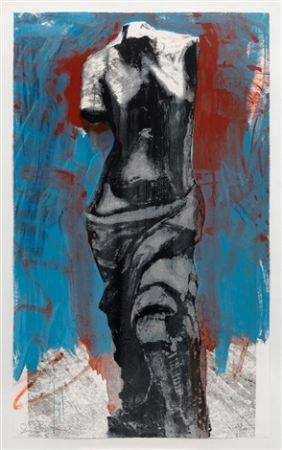 Serigrafia Dine - Red, White & Blue Venus for Mondale