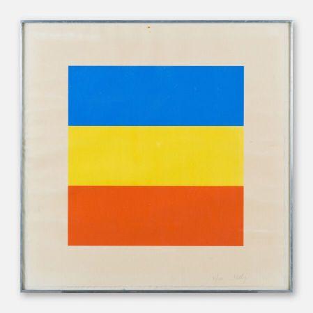 Serigrafia Kelly - Red, Yellow, Blue.