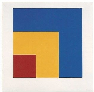 Litografia Kelly - Red/Yellow/Blue