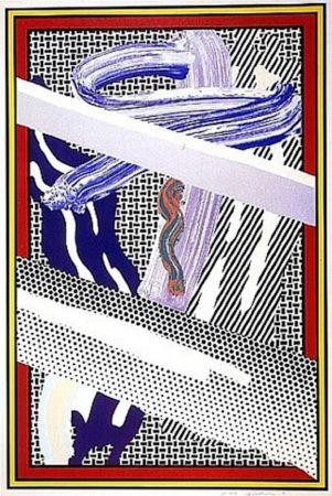 Serigrafia Lichtenstein - Reflections on an Expressionist Painting