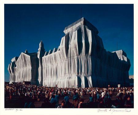 Fotografie Christo - Reichstag Mappe I, 16 Uhr