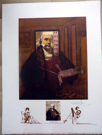 Litografia Dali - Rembrandt