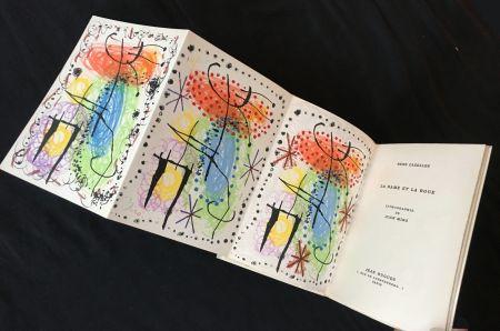 Libro Illustrato Miró - René Cazelles. LA RAME ET LA ROUE. Lithographie de Joan Miro signée et numérotée (1960)