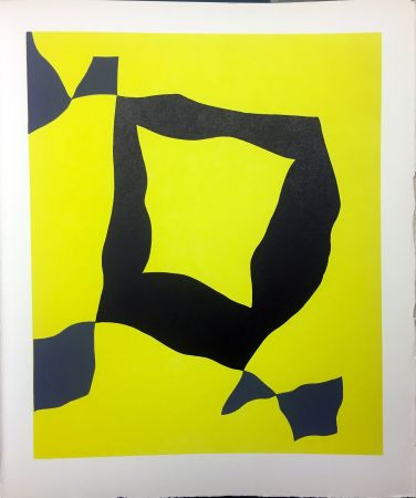 Libro Illustrato Arp - René Crevel : FEUILLES ÉPARSES (Avec 14 gravures de Giacometti, Ernst, Man Ray, Miró, Masson, etc.). 1965.