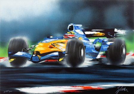 Litografia Spahn - Renault F1