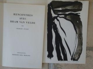 Libro Illustrato Van Velde - Rencontres avec Bram Van Velde