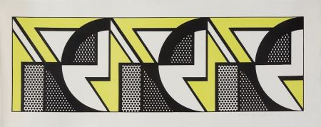 Litografia Lichtenstein - Repeated Design