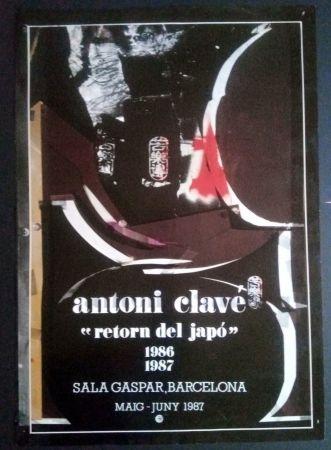 Manifesti Clavé - Retorn al Japó - Sala Gaspar 1987