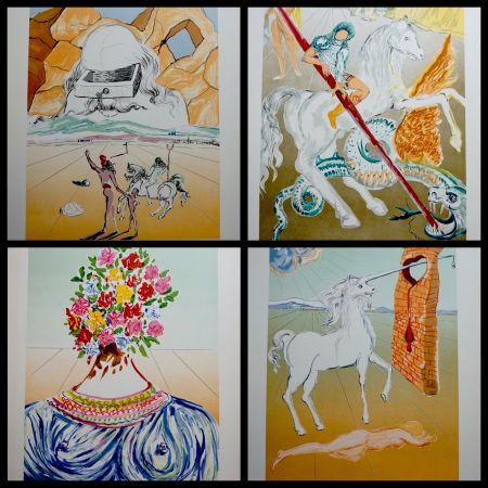 Litografia Dali - Retrospective Complete Suite