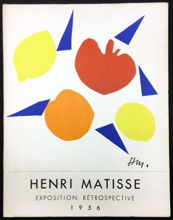 Libro Illustrato Matisse - RETROSPECTIVE MATISSE 28 Juillet - 18 Novembre 1956 (Catalogue).