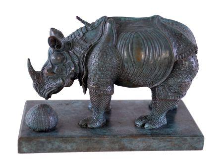 Multiplo Dali - Rhinoceros Dressed in Lace - Rhinocéros habillé en dentelles