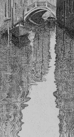 Acquaforte Cotugno  - Riflessi veneziani