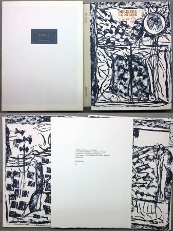 Libro Illustrato Riopelle - RIOPELLE. DERRIÈRE LE MIROIR N° 232. Janvier 1979. TIRAGE DE LUXE SUR ARCHES.