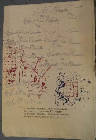Litografia Arman - RITOURNELLE
